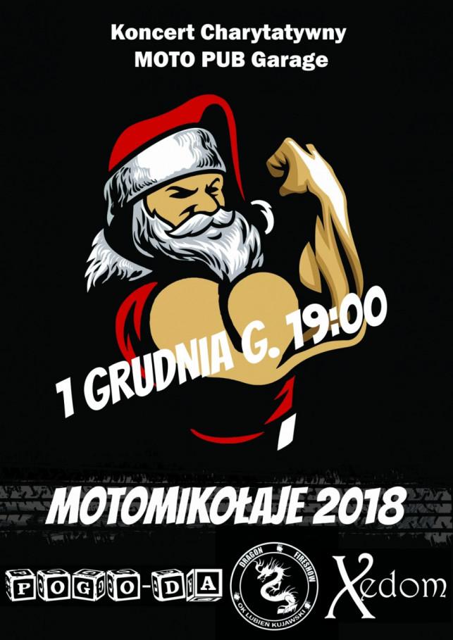 Koncert charytatywny - MotoMikołaje 2018! - Zdjęcie główne