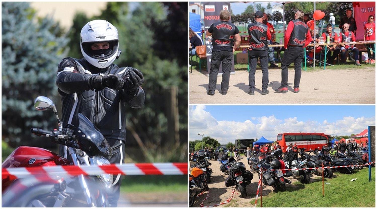 Dziesiątki motocyklistów pod Kutnem! Przyjechali tutaj w szczytnym celu [ZDJĘCIA] - Zdjęcie główne