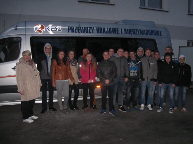 Uczniowie ze szkoły w Mieczysławowie na stażu w Niemczech - Zdjęcie główne