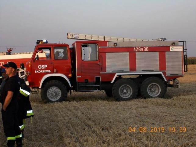 Pracowite żniwa strażaków - Zdjęcie główne