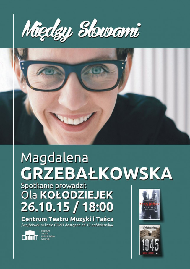 """""""Między słowami"""" z Magdaleną Grzebałkowską - Zdjęcie główne"""