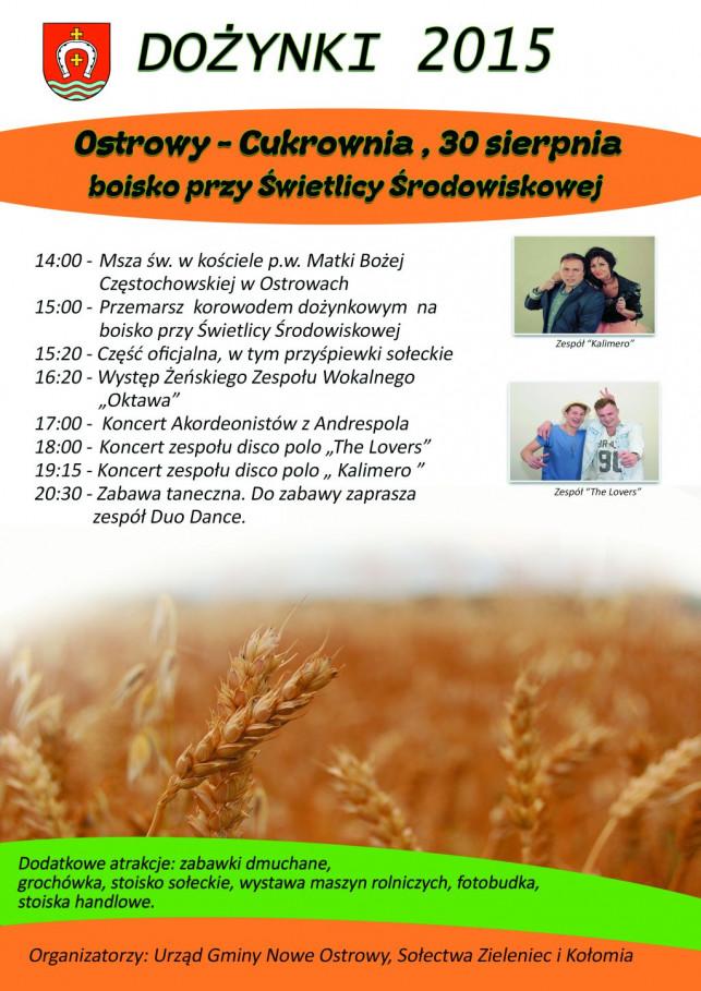 Dożynki gminne w Ostrowach - Cukrownia - Zdjęcie główne