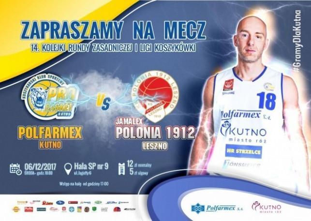 Mecz Polfarmex Kutno vs Jamalex Polonia 1912 Leszno - Zdjęcie główne