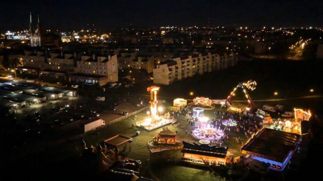 Moje miasto nocą  - Zdjęcie główne