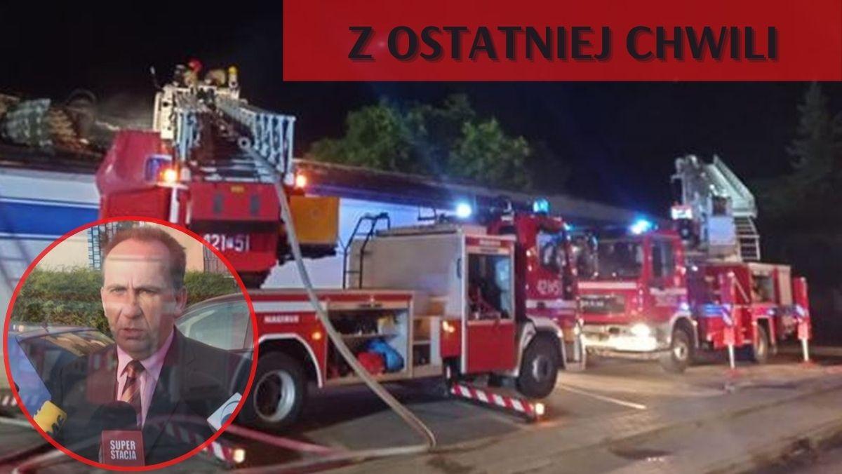 Podpalenie kutnowskiego sklepu. Prokuratura: sprawca nagrywał pożar i… chciał pomagać w szukaniu podpalacza [ZDJĘCIA] - Zdjęcie główne