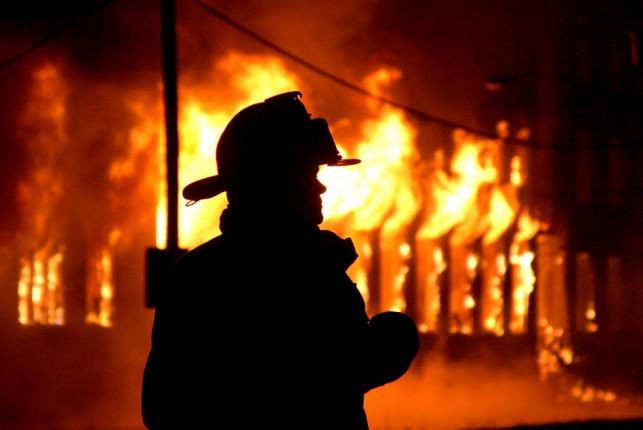 Pożar budynku pod Kutnem. Przyczyną było... - Zdjęcie główne