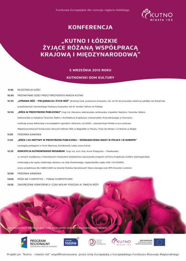 Różana konferencja - Zdjęcie główne