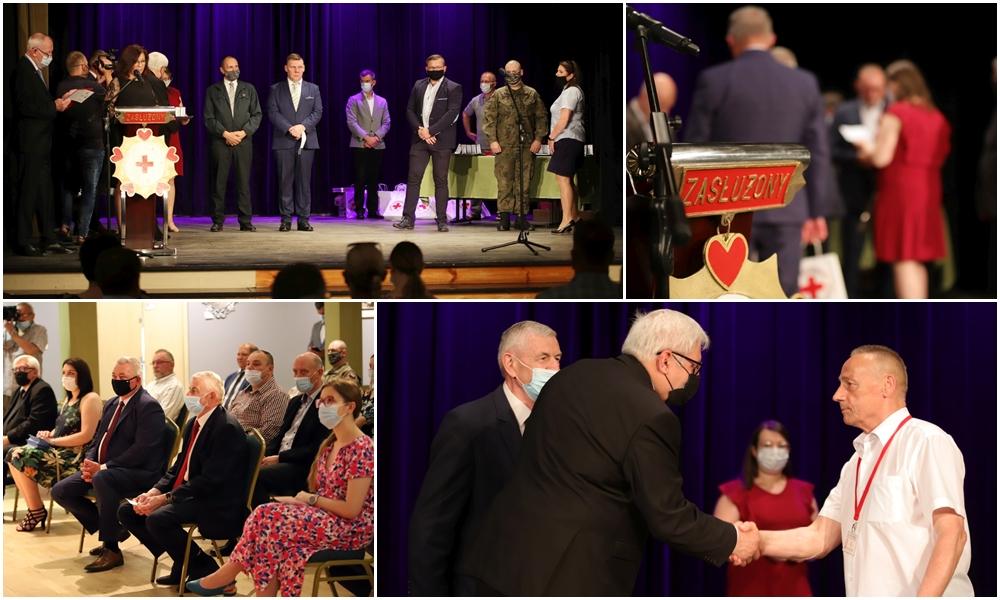 Wyjątkowa uroczystość w CTMiT. Honorowi krwiodawcy odznaczeni [ZDJĘCIA]  - Zdjęcie główne