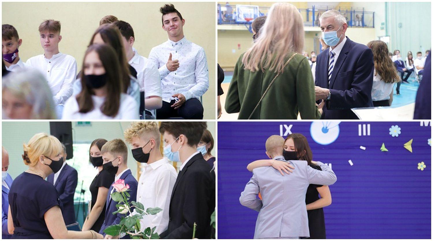 Prezydent Kutna Zbigniew Burzyński żegna uczniów jednej ze szkół. Rozpoczynają się wakacje [ZDJĘCIA] - Zdjęcie główne