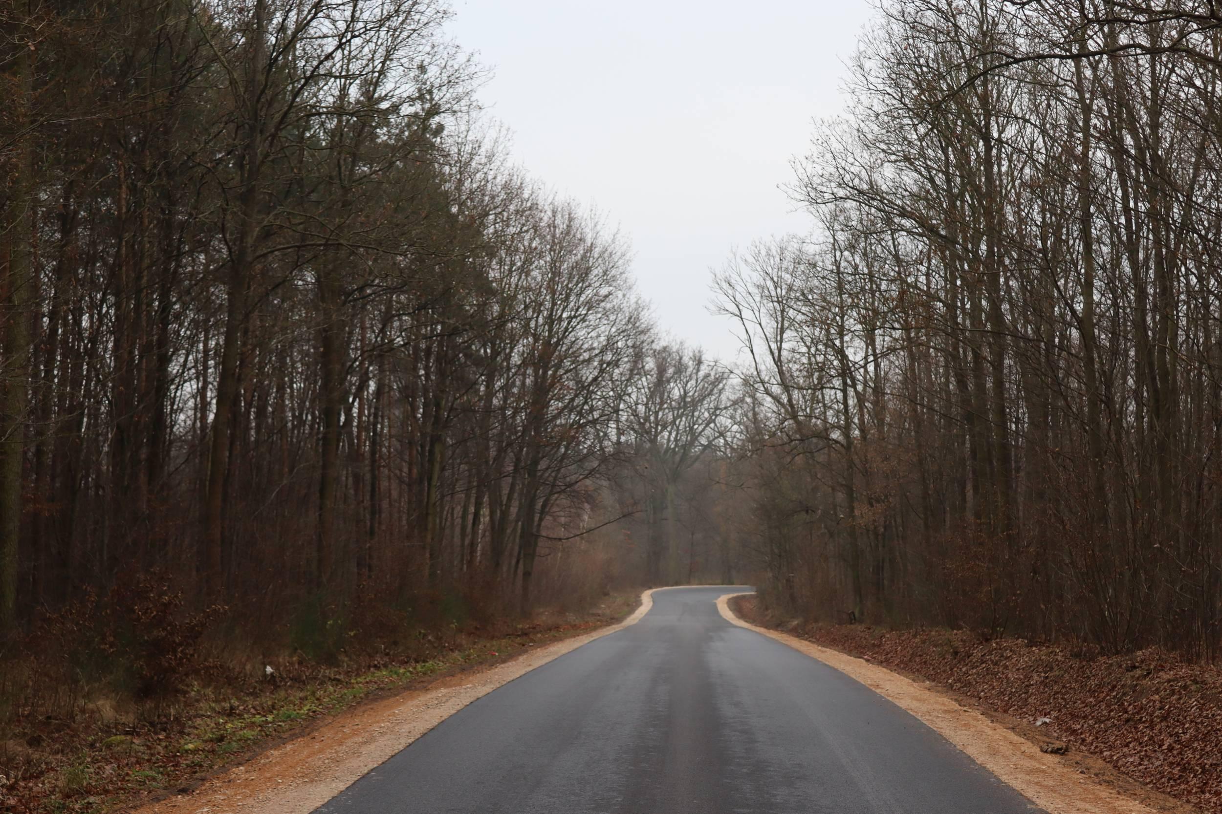 Zakończono przebudowę drogi. Kosztowała ponad milion złotych - Zdjęcie główne