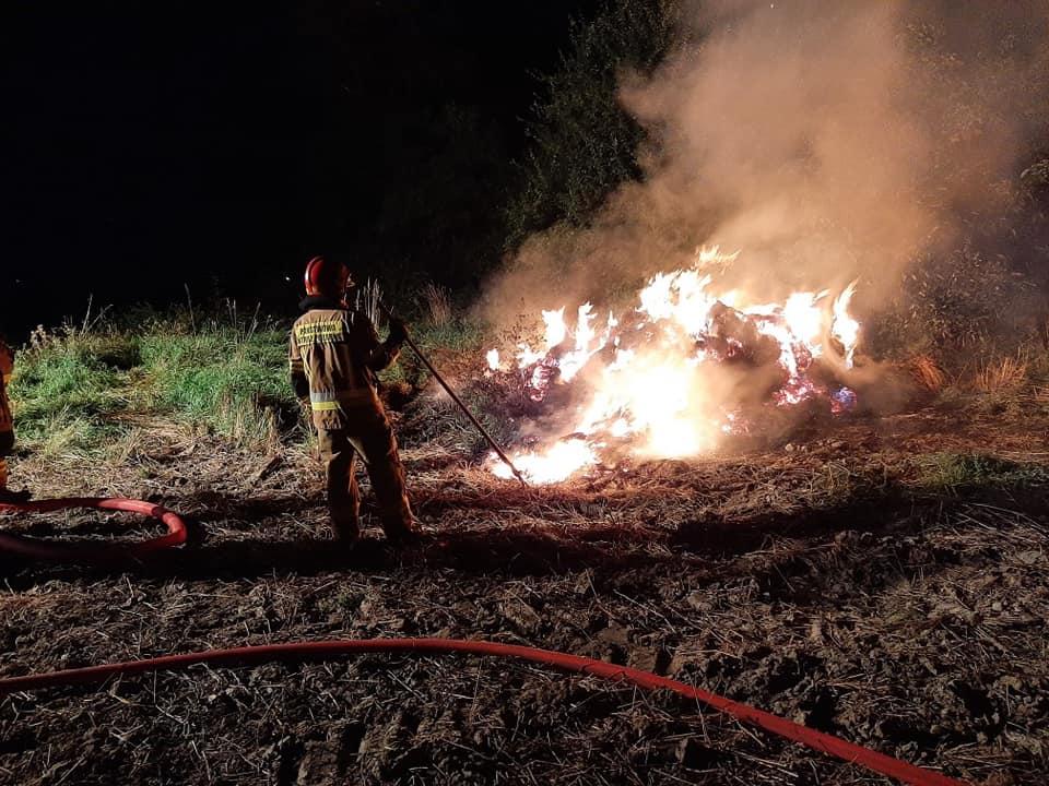Dwa pożary w powiecie kutnowskim! Strażacy mieli ręce pełne roboty [ZDJĘCIA] - Zdjęcie główne