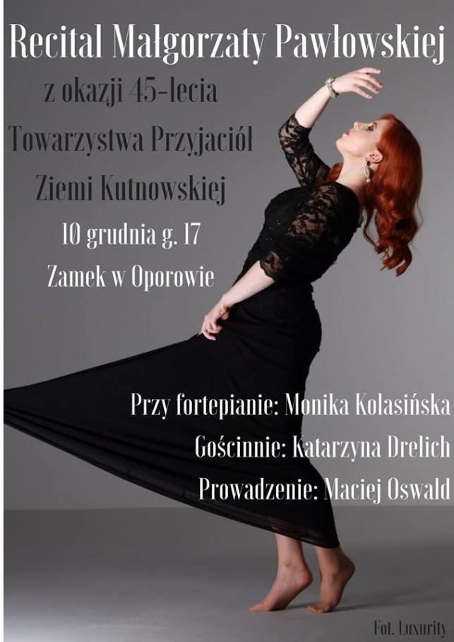 Recital Małgorzaty Pawłowskiej - Zdjęcie główne