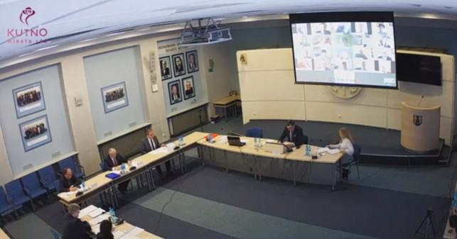 [NA ŻYWO] Wyjątkowe obrady kutnowskich radnych. Trwa zdalna sesja - Zdjęcie główne