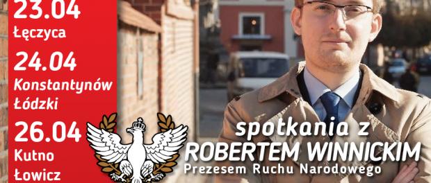 Robert Winnicki w województwie łódzkim - Zdjęcie główne