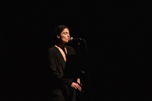 Edith Piaf zwieńczyła Dni Frankofonii. Iris Munos na deskach KDK - Zdjęcie główne