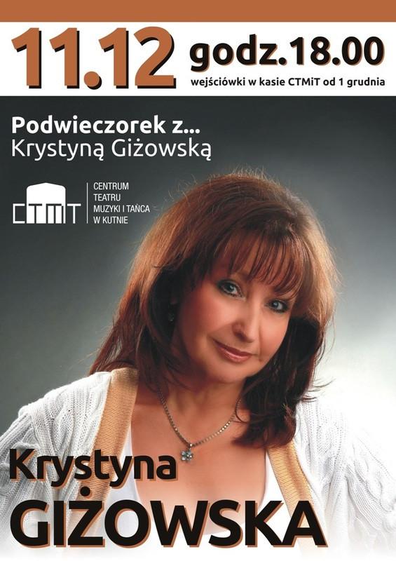 Podwieczorek z... Krystyną Giżowską - Zdjęcie główne