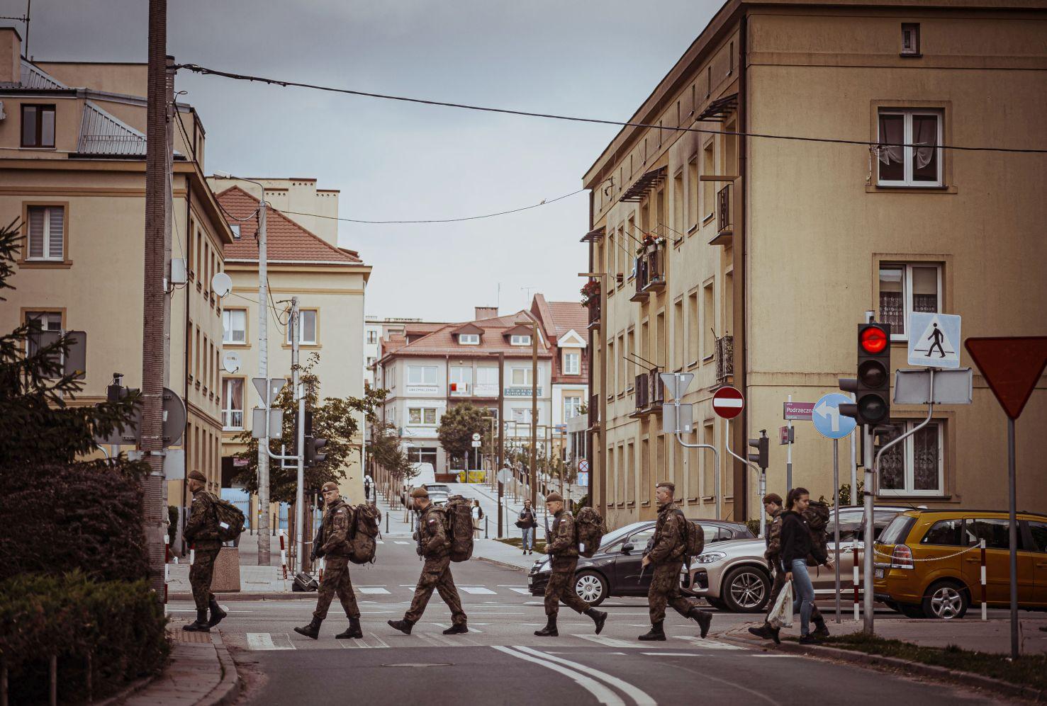 Wojsko na ulicach Kutna! Co  żołnierze robili w naszym mieście? [ZDJĘCIA] - Zdjęcie główne