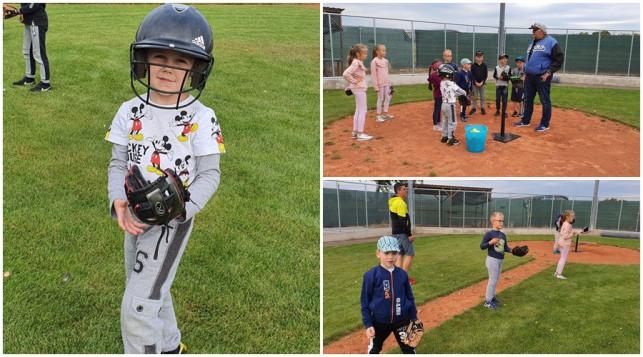 [ZDJĘCIA] Dzieciaki poznają baseball. Trenerzy pod wrażeniem - Zdjęcie główne