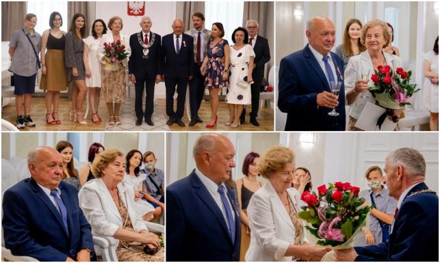 [ZDJĘCIA] Miłość, co rozkwitła niczym piękny kwiat. Państwo Galus są razem już 50 lat! - Zdjęcie główne