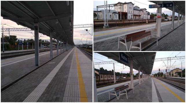 [ZDJĘCIA] Wreszcie! Na kutnowskiej stacji oddali kolejny peron - Zdjęcie główne