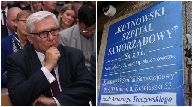 Co z kutnowskim szpitalem? Tadeusz Woźniak pisze do ministra - Zdjęcie główne