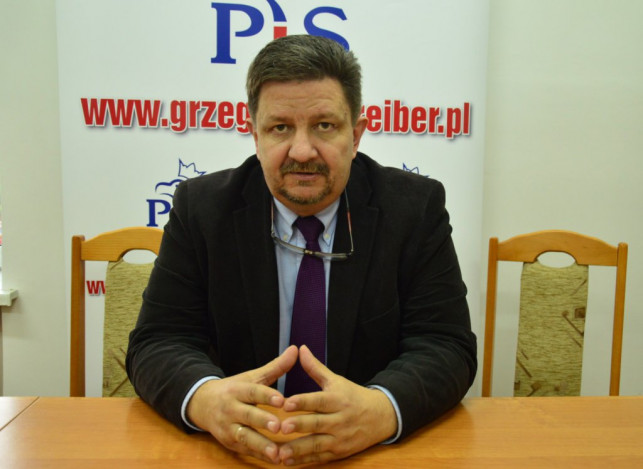 Konferencja prasowa Grzegorza Schreibera - Zdjęcie główne