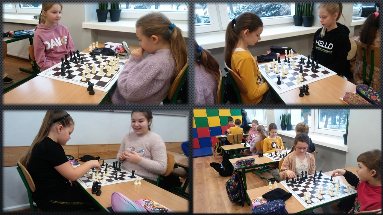 """[ZDJĘCIA] Kutnowska """"Szóstka"""" szachami stoi - Zdjęcie główne"""