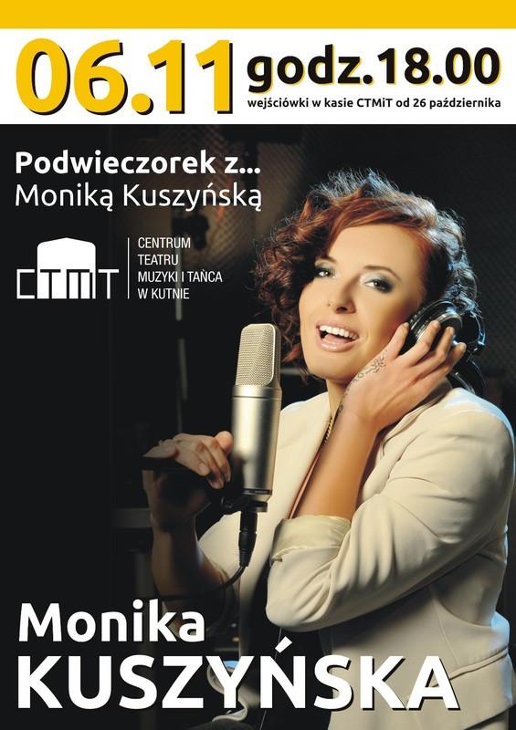 Podwieczorek z... Moniką Kuszyńską - Zdjęcie główne