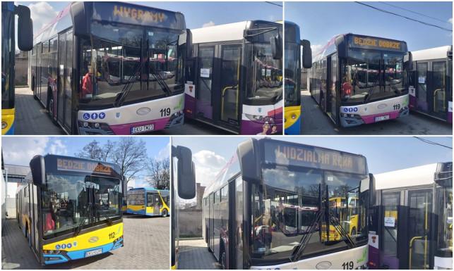 [ZDJĘCIA] ''Wygramy'', ''Będzie dobrze''. Autobusy MZK dodają mieszkańcom otuchy - Zdjęcie główne