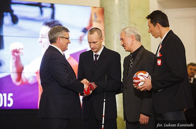 Żychlinianin osobiście pogratulował medalistom MŚ w Piłce Ręcznej - Zdjęcie główne