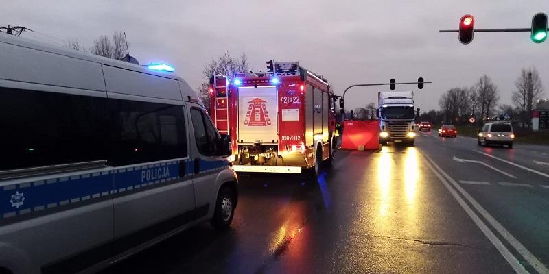 [FOTO] Śmiertelny wypadek na skrzyżowaniu, sprawa pod lupą prokuratury - Zdjęcie główne