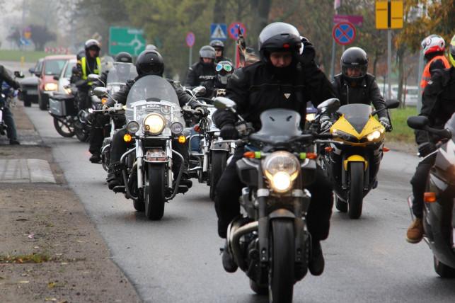 Motocykliści żegnają Mateusza - Zdjęcie główne