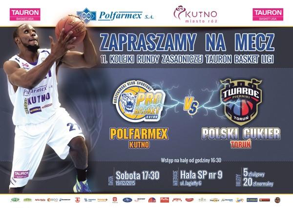 Sprzedaż biletów na mecz Polfarmex Kutno – Polski Cukier Toruń  - Zdjęcie główne