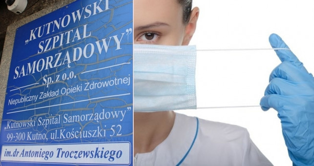 Środki ochrony osobistej i testy dla personelu: jak wygląda sytuacja w kutnowskim szpitalu? - Zdjęcie główne