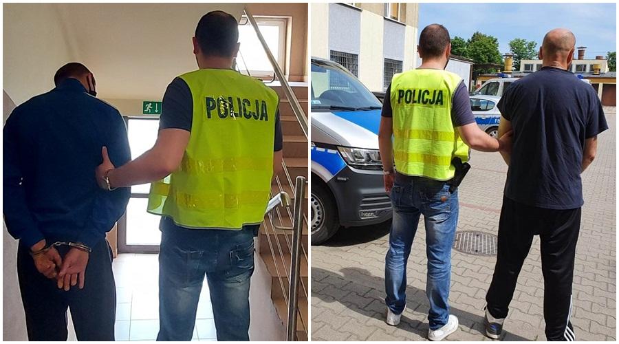 """Dwóch mężczyzn w rękach kutnowskiej policji. """"Użyli siły wobec kobiety"""" - Zdjęcie główne"""