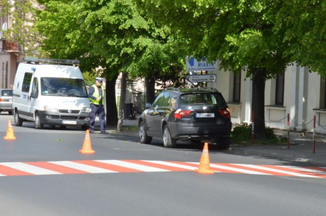 Potrącenie pieszej na ul. Barlickiego - Zdjęcie główne