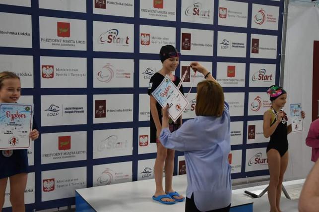 Sukcesy kutnowskich pływaków na Mistrzostwach Województwa Łódzkiego - Zdjęcie główne