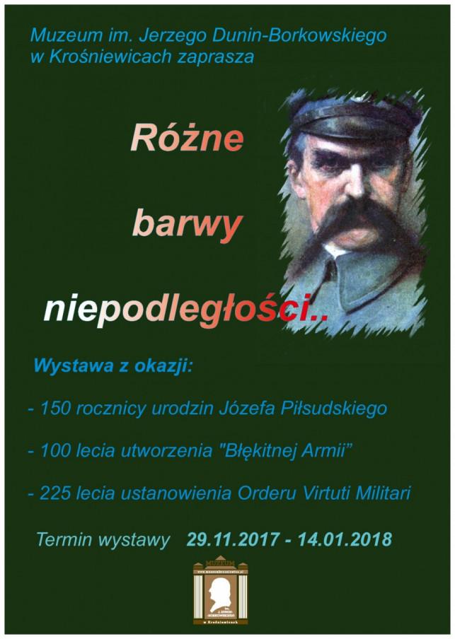 """Wystawa """"Różne barwy niepodległości"""" w Krośniewicach - Zdjęcie główne"""