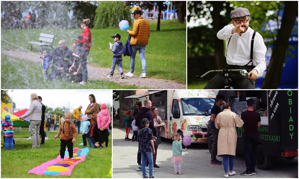 [ZDJĘCIA] Moc atrakcji (nie tylko) dla najmłodszych. Trwa wielkie rodzinne święto w Leszczynku - Zdjęcie główne