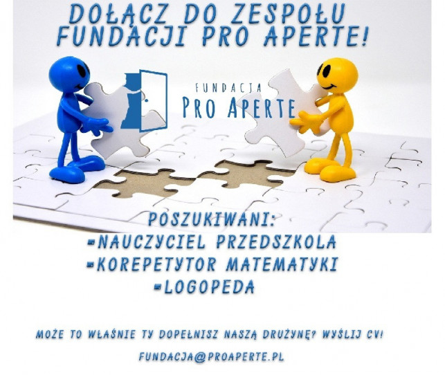 Rekrutacja - Pro Aperte - Zdjęcie główne