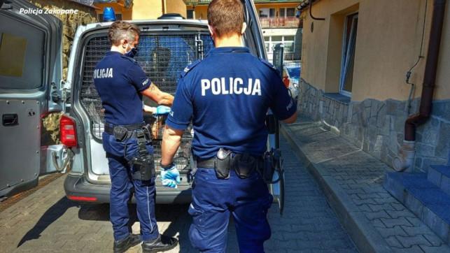 [FOTO] Wynajmował ''wirtualne'' apartamenty na… Podhalu! 22-latek w rękach policji - Zdjęcie główne