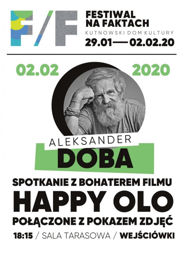 Festiwal na faktach: Spotkanie z Aleksanderem Dobą - Zdjęcie główne