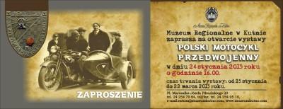 """Wernisaż wystawy """"Polski motocykl przedwojenny"""" - Zdjęcie główne"""