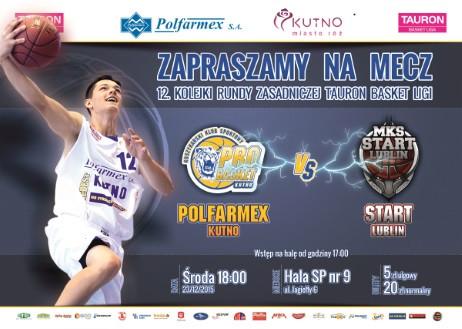 Sprzedaż biletów na mecz Polfarmex Kutno – Start Lublin  - Zdjęcie główne