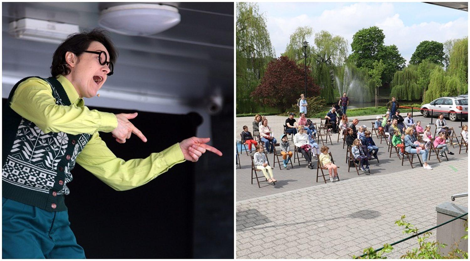Rodzice i dzieci w kutnowskim parku. Co się tam działo? [ZDJĘCIA] - Zdjęcie główne