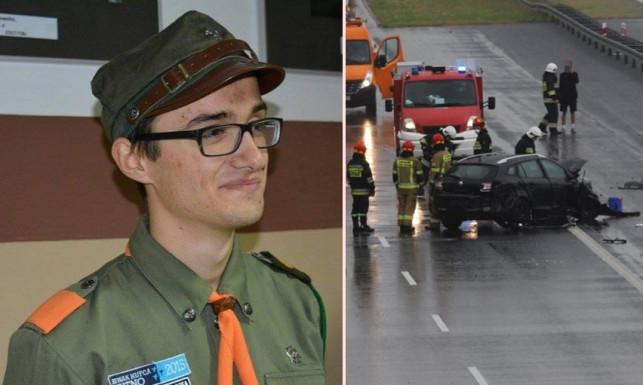 Wypadek z udziałem kutnowskiego harcerza. Michał potrzebuje pilnej pomocy! - Zdjęcie główne