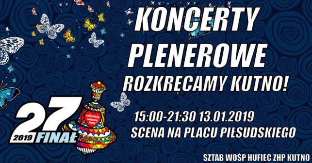 Koncertowo rozkręcą Kutno - znamy rozkład jazdy finału WOŚP 2019! - Zdjęcie główne