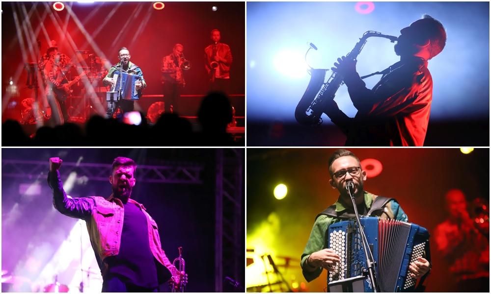 Niezwykła energia na koniec pierwszego dnia koncertów. Zespół Enej porwał Kutno! [ZDJĘCIA] - Zdjęcie główne