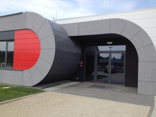 Budowa fabryki Star Fitness na ukończeniu - Zdjęcie główne