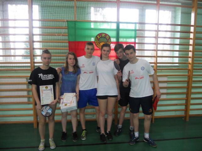 Powiatowy Turniej LZS w tenisie stołowym - Zdjęcie główne